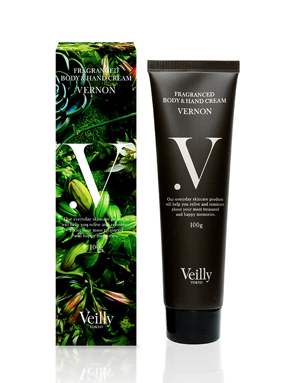 FRAGRANCED BODY&HAND CREAM VERNON